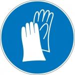 Pictogram Veiligheidshandschoenen verplicht sticker