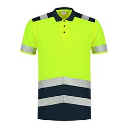 Tricorp Poloshirt High Vis Bicolor 203007