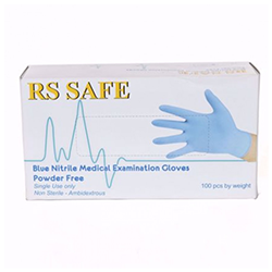 RS Safe 40-443 Nitril Handschoen (100 stuks)