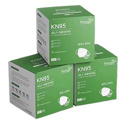 Mondmaskers KN95 (FFP2) (per 10 stuks)