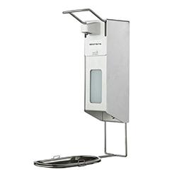 Spraydispenser geschikt voor desinfectie met elleboogbediening 500ml navulbaar