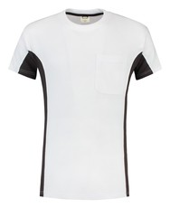 Tricorp 102002 T-Shirt Bicolor, met borstzak