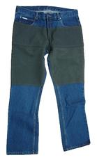 Spijkerbroek met gecoat Kevlar op het bovenbeen tot de zakintasten